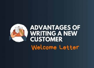 Writing New Customer Welcome Letter