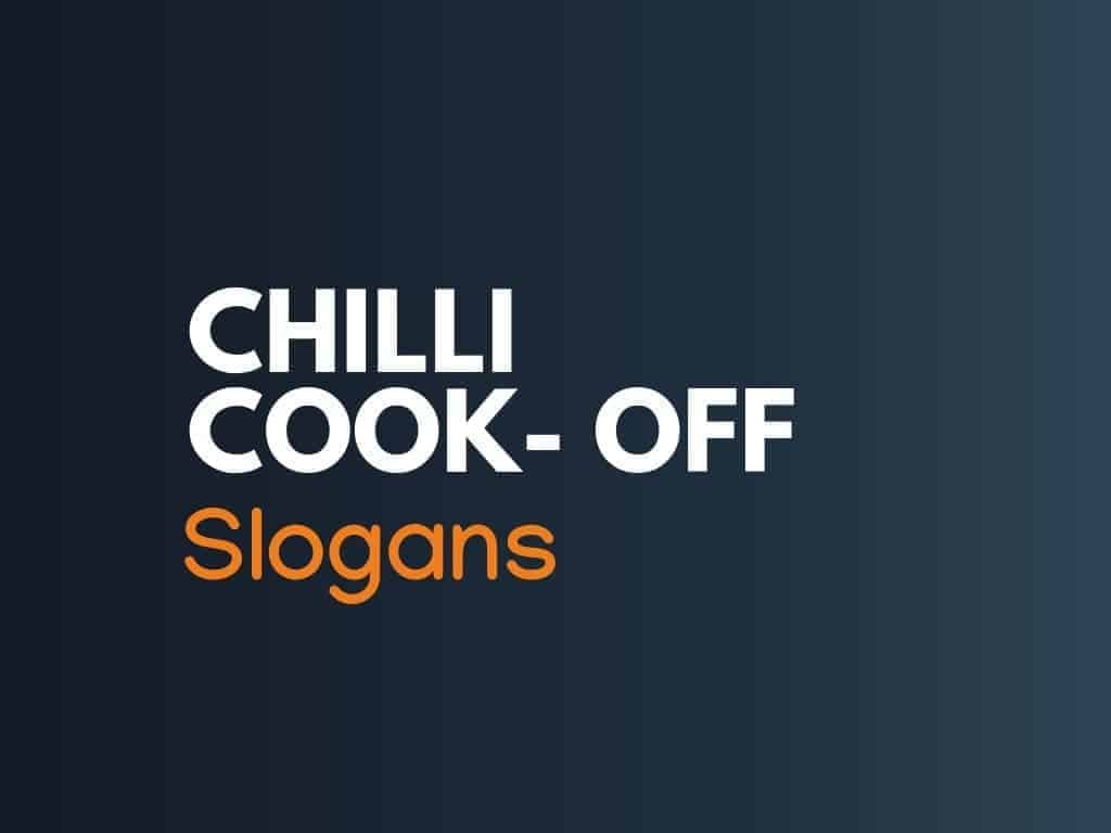 155+ Clever Chili Cook-Off Slogans - thebrandboy.com