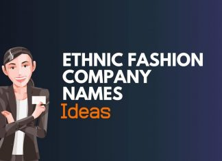 ethnic fashion company names ideas