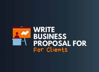 write business proposal for Clients