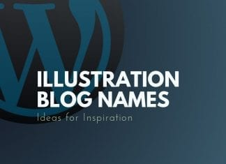 Illustration Blog Names