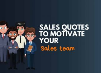 powerful Sales Quotes to motivate Sales Team