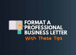 Format a Professional Business Letter
