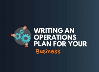 Write Operations Plan of Business