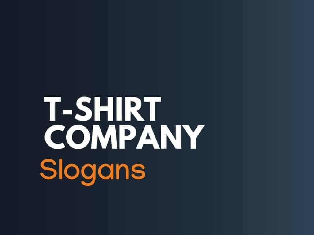 t shirt business slogans