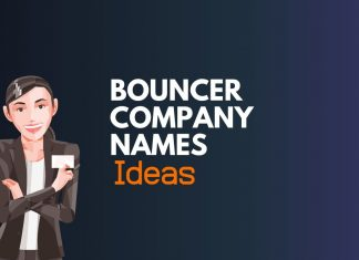 bouncer company names ideas