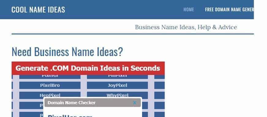 business names generator online