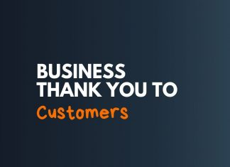 Business Thank you Messages for Customer