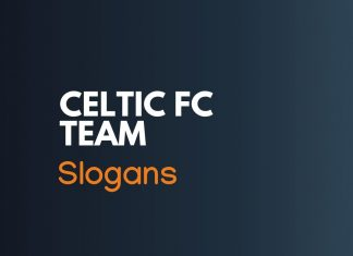 Celtic Fc Football Team Slogans