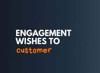 Engagement Wishes to Customer