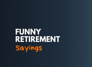 Funny Retirement Sayings for Cards