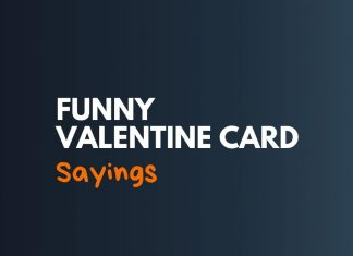 Funny Valentine Card Sayings