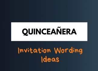 Quinceañera Invitation Wording Ideas