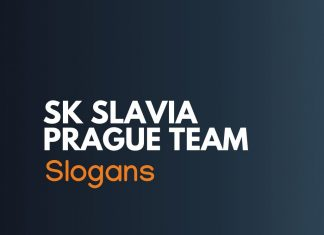 SK Slavia Prague Football Cheer Slogans