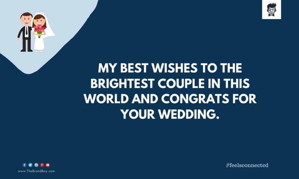 good Wedding Wishes to Your Customer