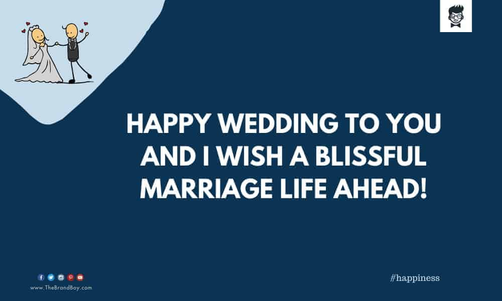catchy Wedding Wishes to the Peon