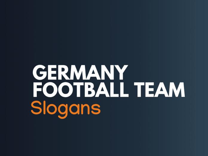 Germany Football Team Slogans