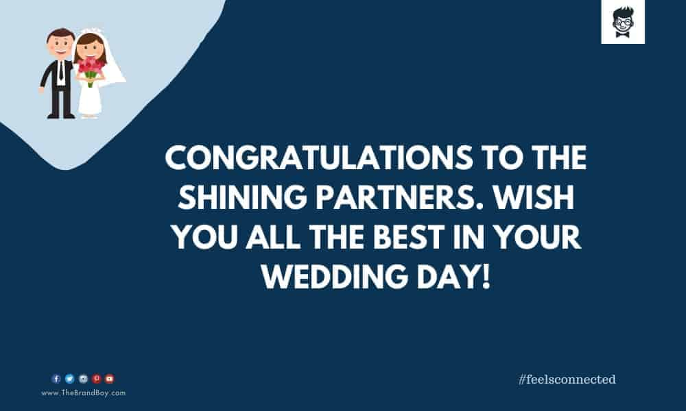 perfect Wedding Wishes to Your Customer