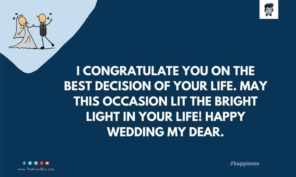 perfect Wedding Wishes to the Peon