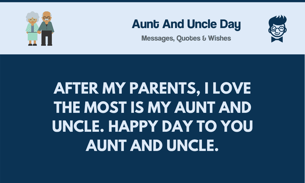 Aunt and Uncle Day: 69+ Best Messages, Wishes & Greetings