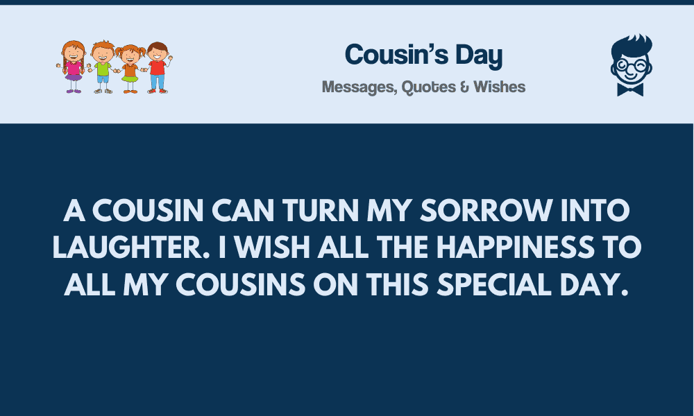 cousin s day best messages quote greetings