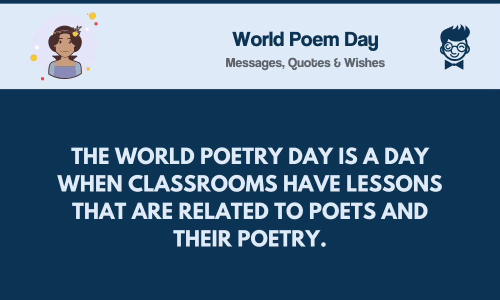 World Poem Day 85 Best Messages Quotes Greetings Poetry selected daily by blair mahoney for his english classes. world poem day 85 best messages