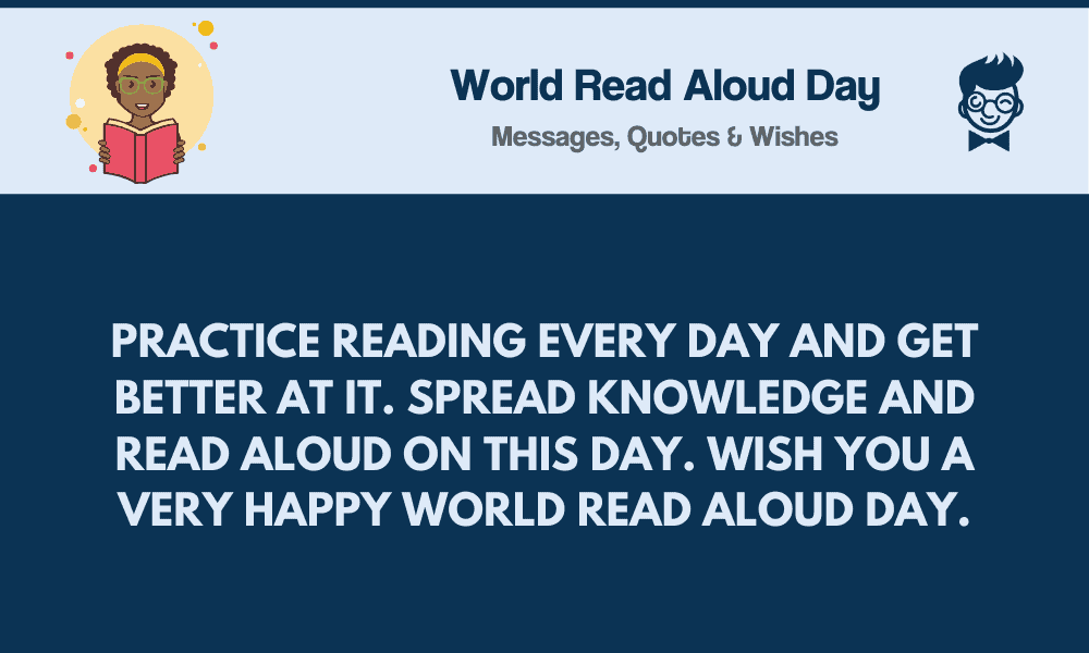 World Read Aloud Day 74 Messages Quotes And Greetings