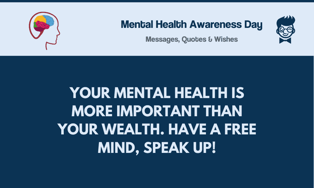 Mental Health Awareness Day: 81+ Best Messages, Greetings