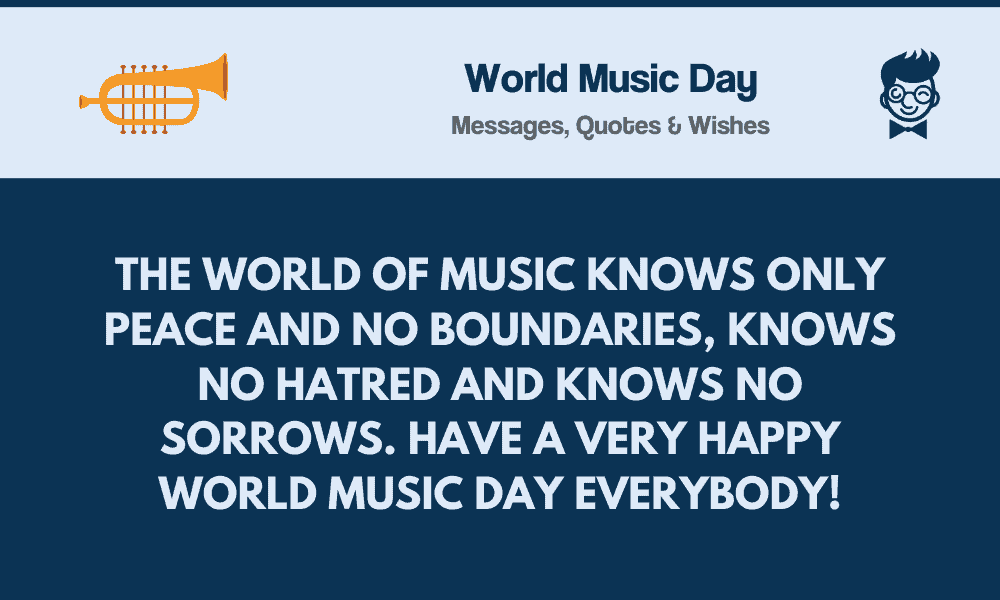 World Music Day 84 Best Messages Quotes Wishes