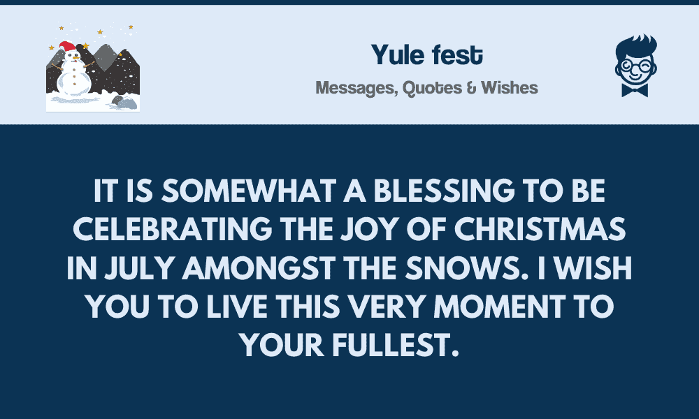 yulefest best messages quotes greetings