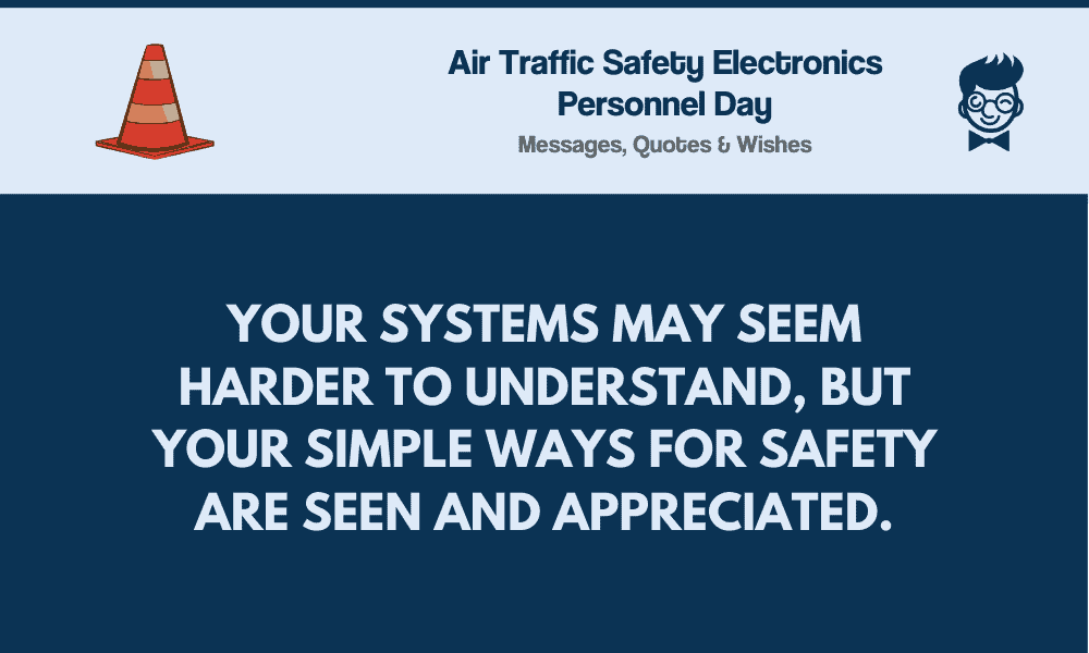 air traffic safety electronics personnel day best messages