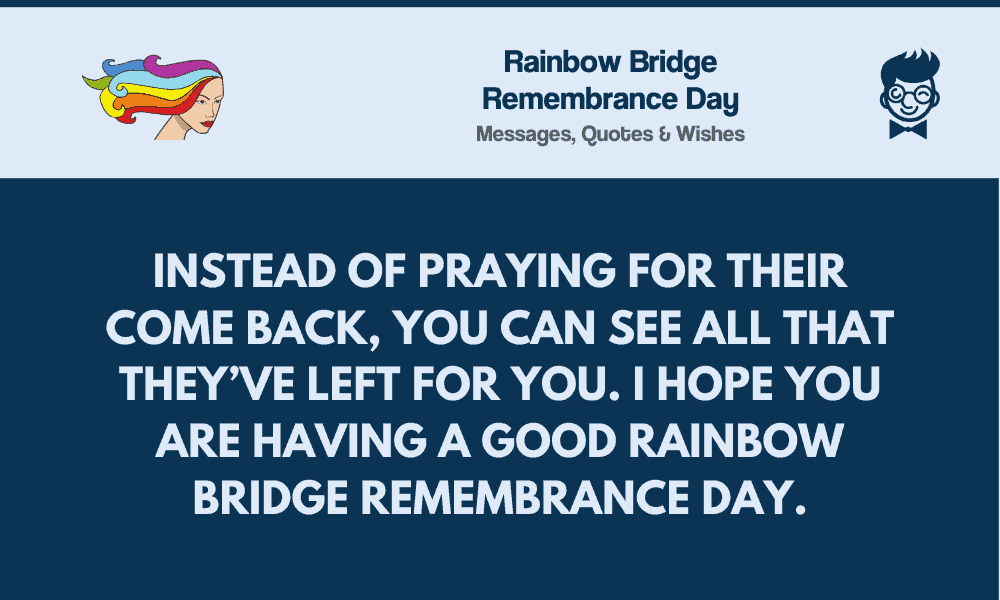 rainbow bridge remembrance day best messages greetings