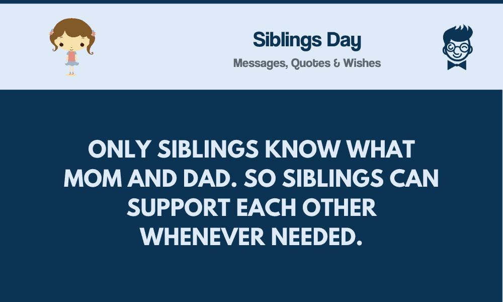 siblings day best messages quotes greetings