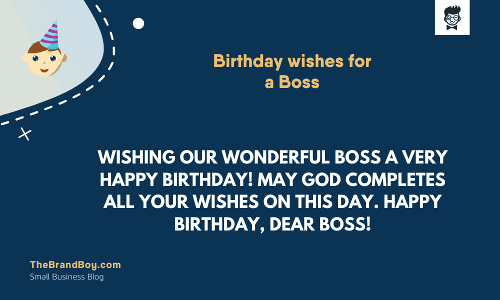 Tremendous 71 Mindblowing Birthday Wishes For A Boss Thebrandboy Com Personalised Birthday Cards Cominlily Jamesorg