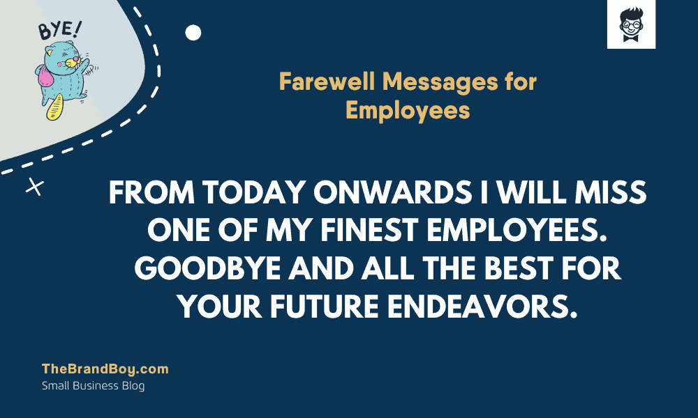 inspirational farewell messages for employees com