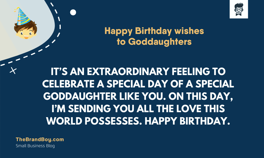 superb happy birthday wishes to goddaughters