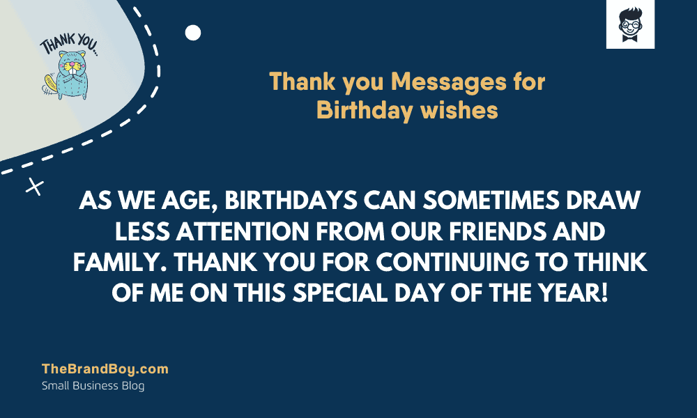 Pleasing 29 Best Thank You Messages For Birthday Wishes Thebrandboy Funny Birthday Cards Online Fluifree Goldxyz