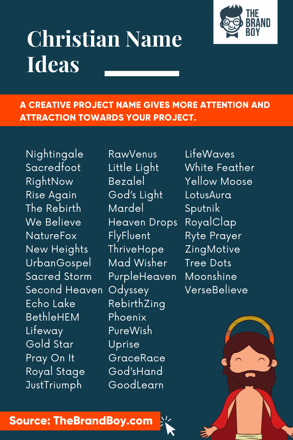464 Best Christian Business Name Ideas Video Infographic