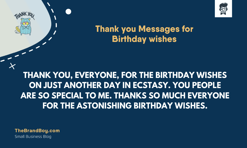 29 Best Thank You Messages For Birthday Wishes Thebrandboy