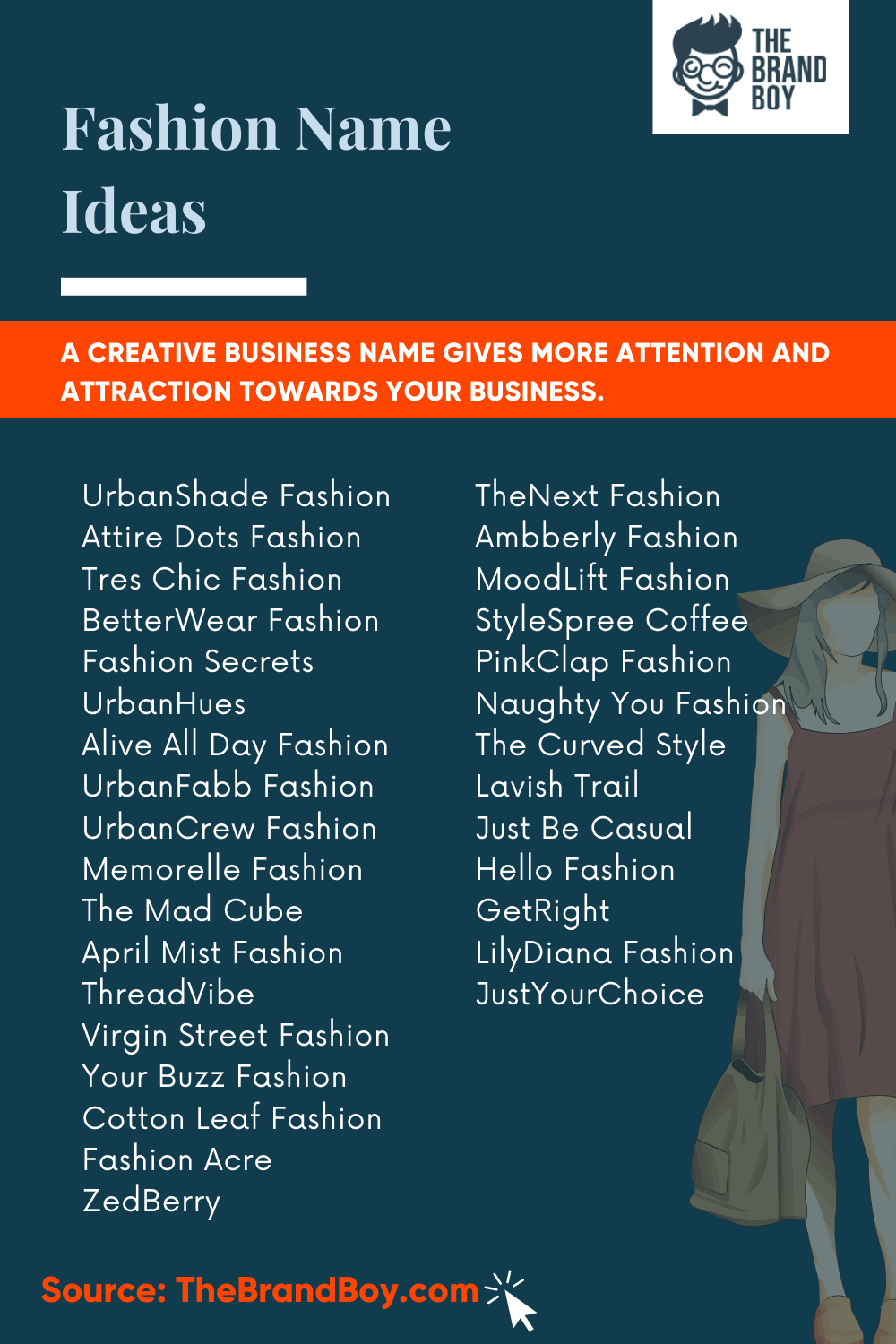 588 Trending Fashion Shop Names Ideas Video Infographic