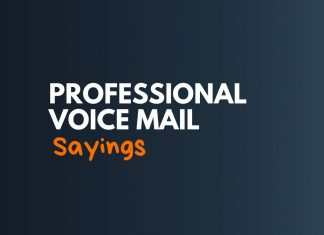 Professional Voice Mail Greetings