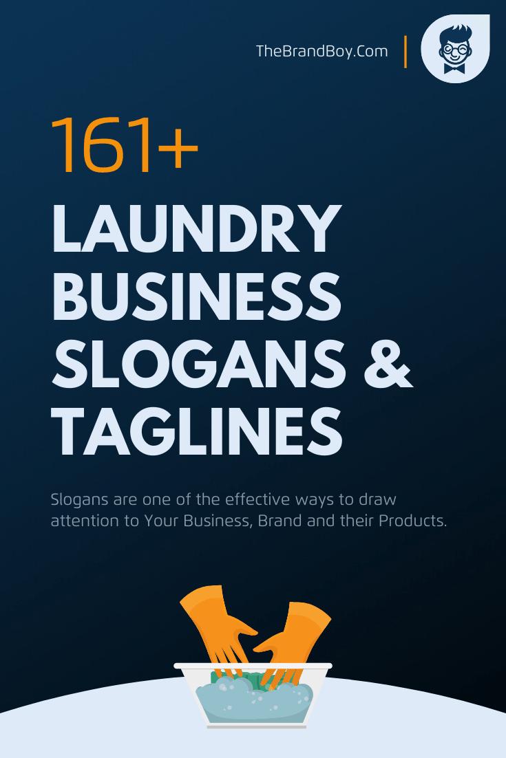 187 Catchy Laundry Business Slogans Taglines Thebrandboy