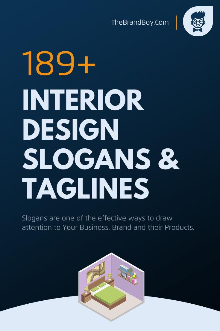 201 Catchy Interior Design Slogans And Taglines