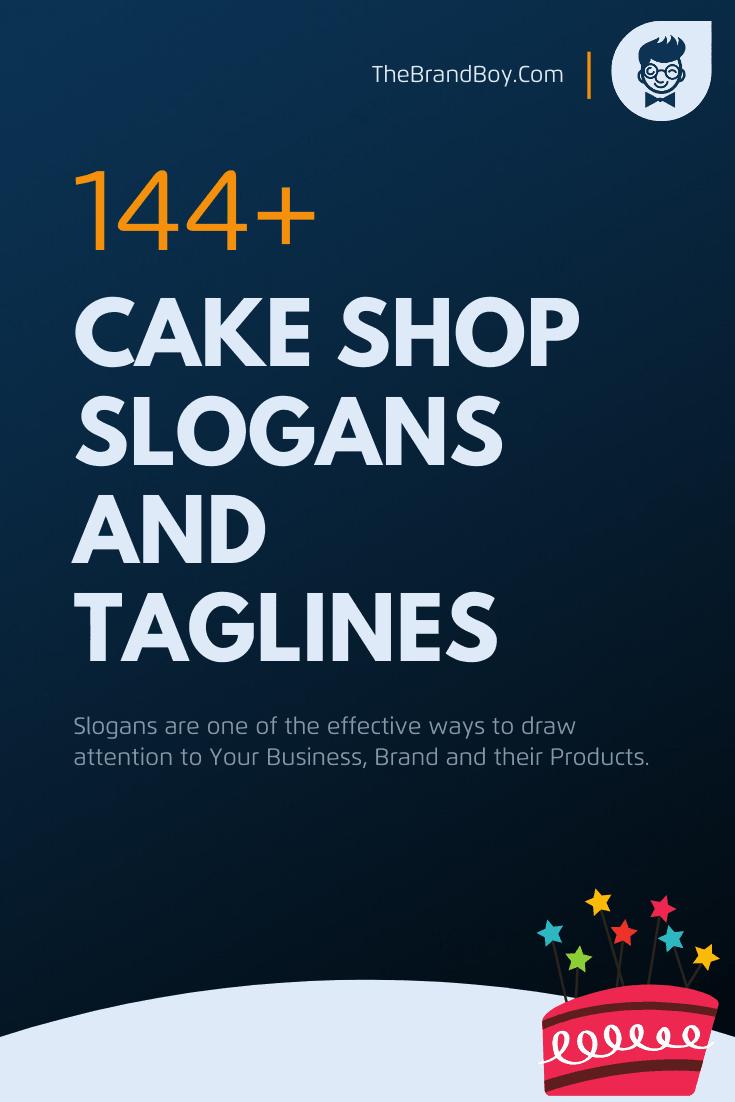 201 Brilliant Cake Shop Slogans And Taglines Thebrandboy