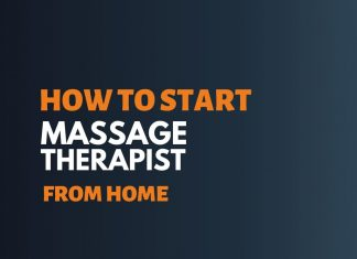 Start Massage Therapist Business from Home