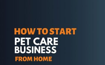 start pet care business from home