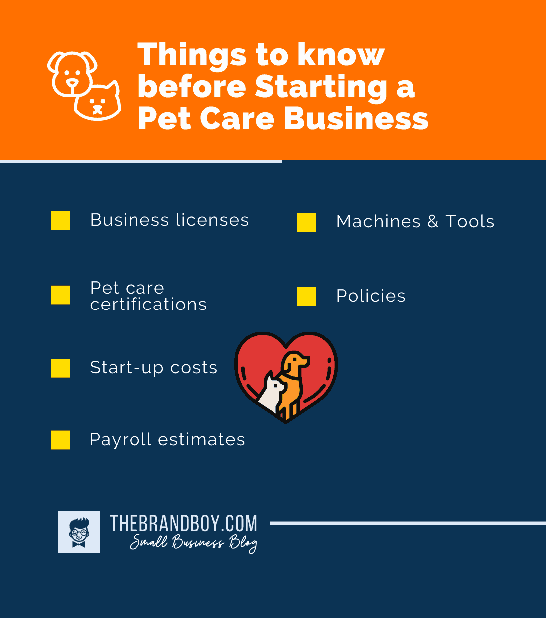 things to know starting pet business