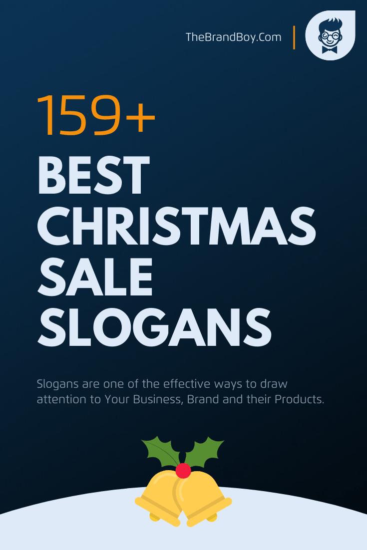 156 Best Christmas Sale Slogans And Taglines Thebrandboy Com