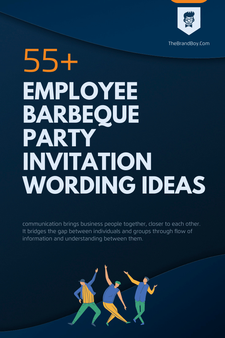 48+ Best Employee Barbeque Party Invitation Wording Ideas