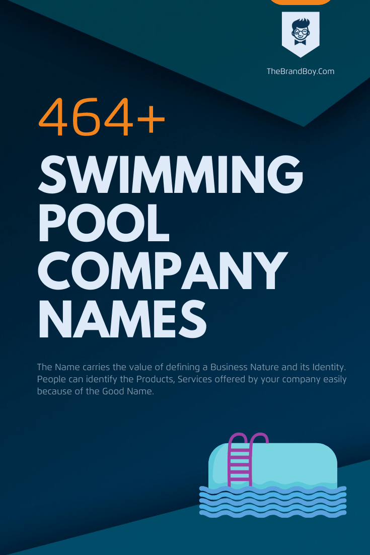 12+ Catchy Swimming Pool Company names Ideas Ever
